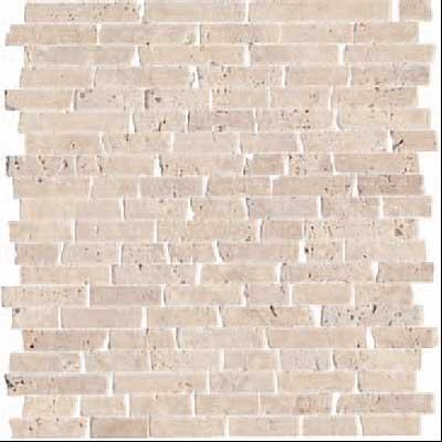 Florida tile pietra art stone random strip mosaic brown for Florida tile mingle price