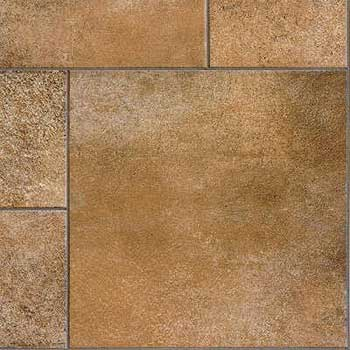 Tarkett fiber floors easy living melody brown leather for Leather flooring cost
