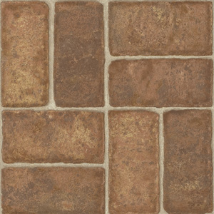 Armstrong colonial brick brick red laminate flooring for Brick flooring prices
