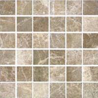 Florida tile pietra art tumbled marble mosaic emperador for Florida tile mingle price