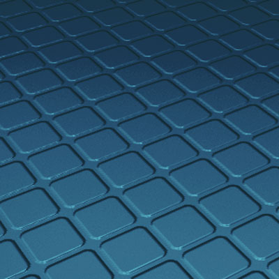 Roppe Roppe Performance Compound Rubber Stair Tread Blue Rubber